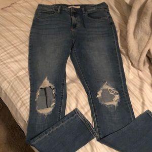 Levi's 721 High Risk Skinny Jeans